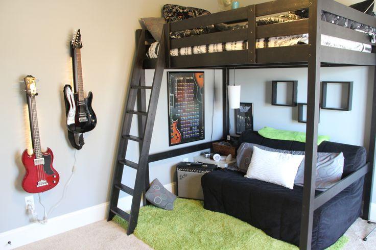 My teen boy's room
