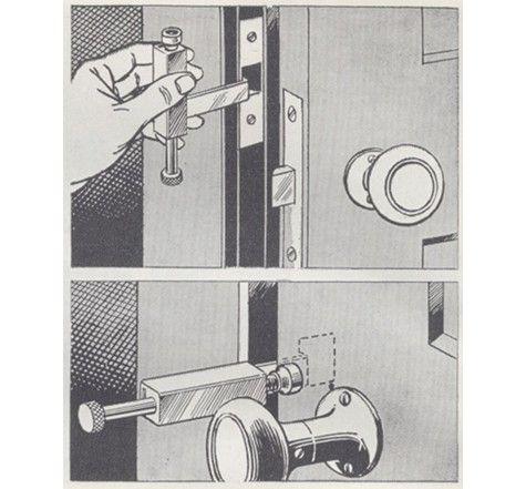 m s de 25 ideas incre bles sobre pestillo de la puerta en