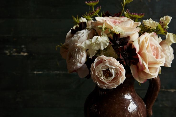 Beautiful artificial roses from Abigail Ahern