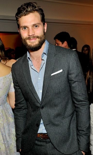Jamie Dornan in Neil Barrett at the InStyle Party