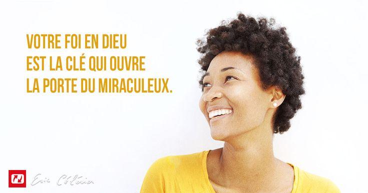 """J'ai encore une bonne nouvelle pour terminer. Celui qui """"fait naître la foi"""" est aussi celui qui """"l'amène à la perfection"""" (voir Hébreux 12.2). Mon ami(e), votre foi va grandir et votre montagne va bouger !"""