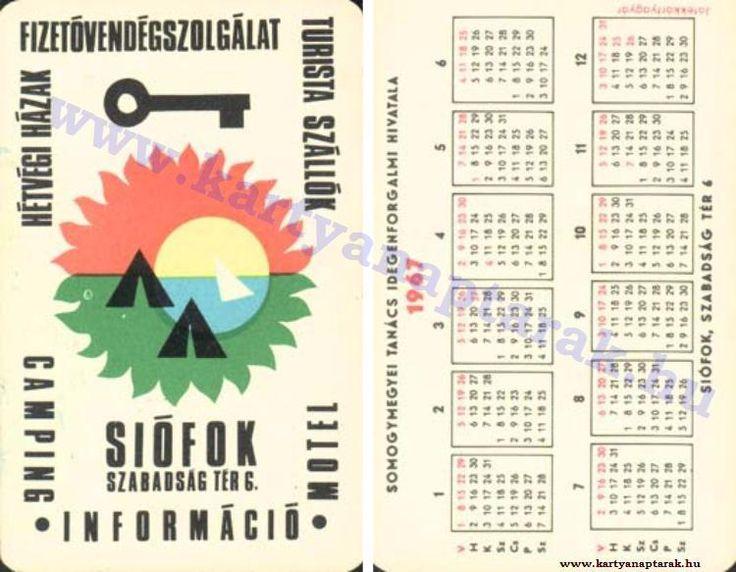 1967 - 1967_0111 - Régi magyar kártyanaptárak