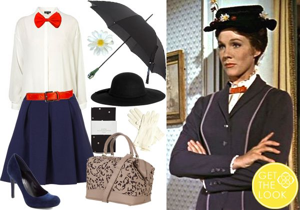 get the look halloween costumes couples mary poppins julie andrews disney kendra scott. Black Bedroom Furniture Sets. Home Design Ideas