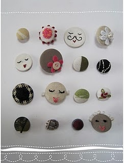 tooo cute: Buttons Gallor, Unique Buttons, Handmade Buttons