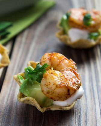 Shrimp Taco Bites.