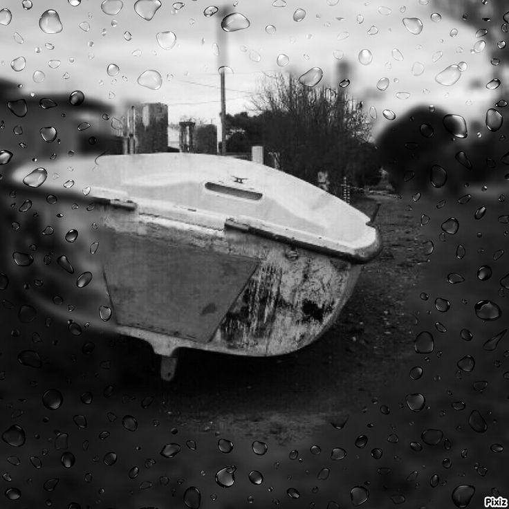 Yagmur ve tekne