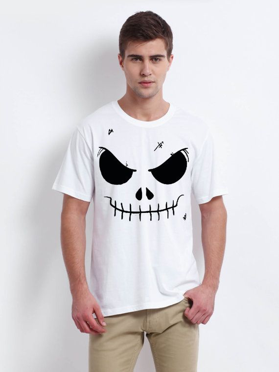 jack skellington face nightmare before christmas men by verstay