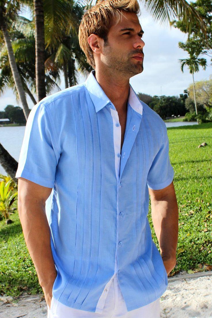 Mens Linen Shirts For Beach Wedding | Mens Linen Wedding Shirts Beach