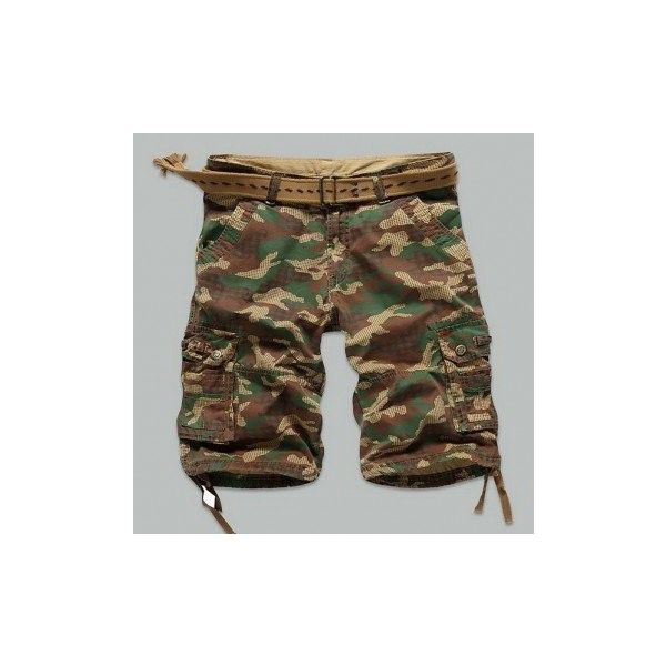 Camo Multi-pocket Cargo Pants Mens Cotton Outdoor Casual Camouflage... ($23) ❤ liked on Polyvore featuring men's fashion, men's clothing, men's shorts, navy, pants & shorts, mens army shorts, mens apparel, mens cotton shorts, mens camouflage shorts and mens camo shorts