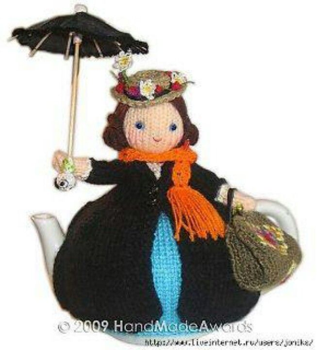 Mary Poppins teapot cover