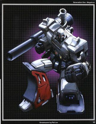 Generation One Megatron Dreamwave By Pat Lee Page 113 Genesis Art Book Photo by Juci_Shockwave | Photobucket