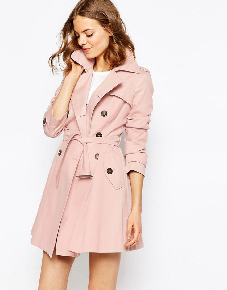 Best 25  Pink trench coat ideas on Pinterest | Pink coats, Pink ...