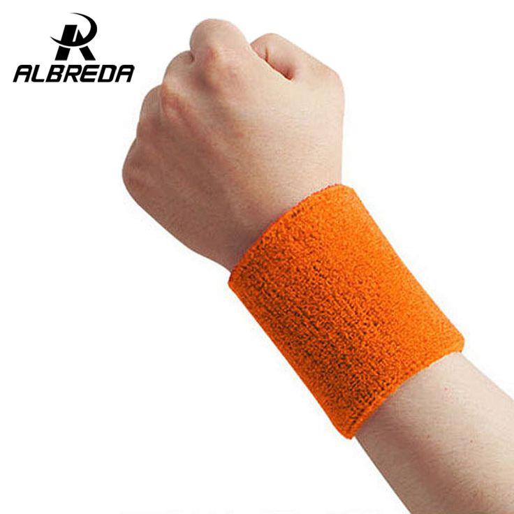15*7.5cm cotton elastic bandage hand sport wristband gym support wrist brace wrap fitness tennis polsini sweat band munhequeira