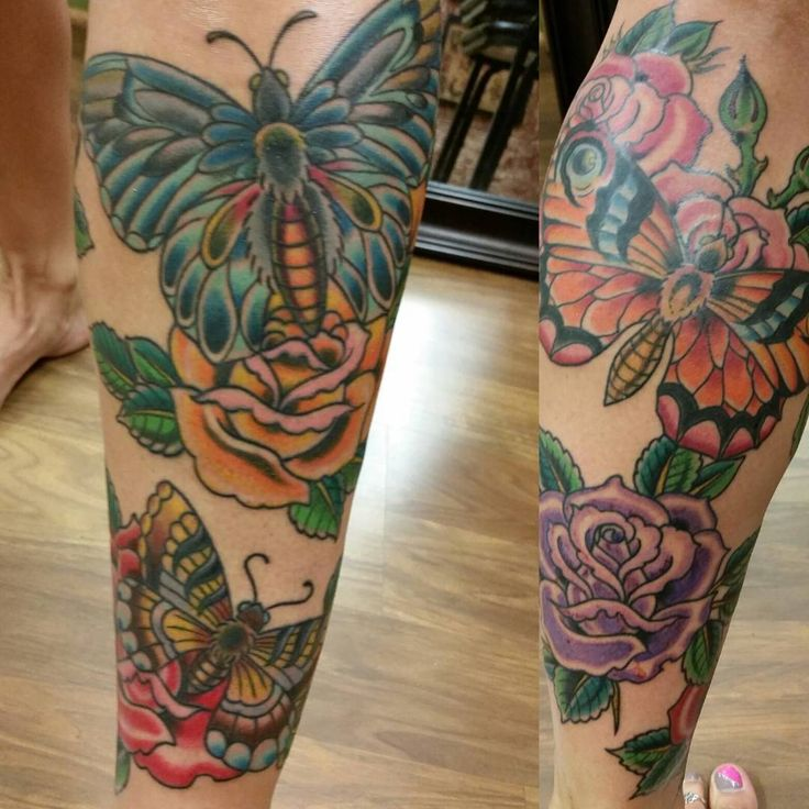 Flower Tattoo Up Leg: 49 Best Images About Butterfly Tattoo On Pinterest