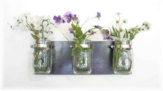 Flowers Flowers & Flowers Maison Jars Deep Grape by ACOUNTRYWAY, $25.00