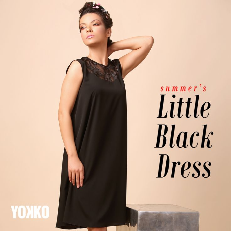 Sensual, elegant, sexy SUMMER 17   YOKKO #lbd #summer17 #black #fashion #dress #style #yokko #madeinromania