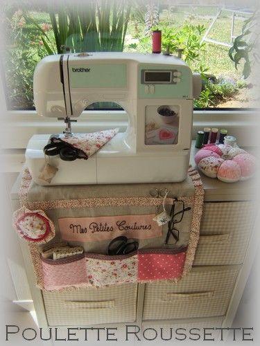 MPorta-accesorios para la máquina de coser. Imprescindible!