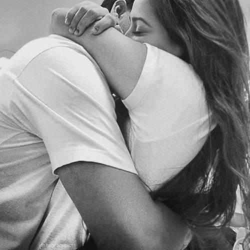 A goodbye hug is always the hardest...