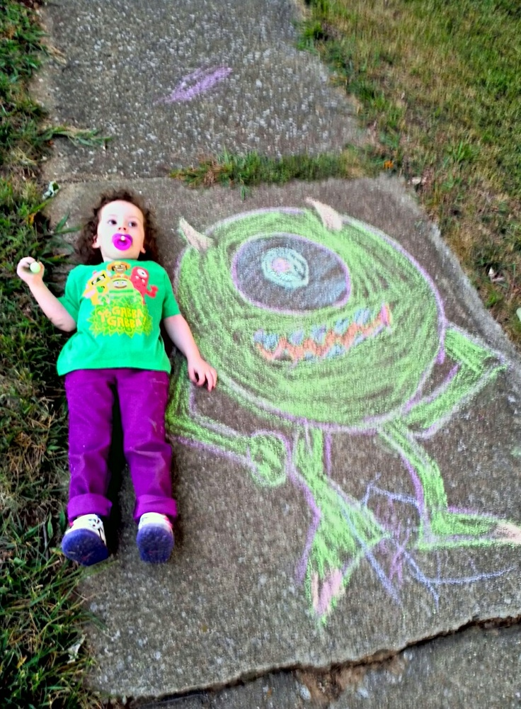 Monsters&  Gabba&  Purple&  Chalk