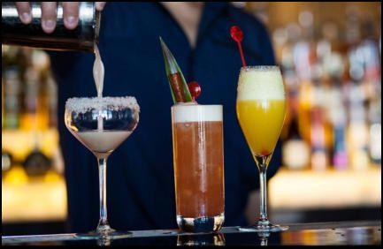 Hire cocktail glasses in Glasgow www.hireabarman.com
