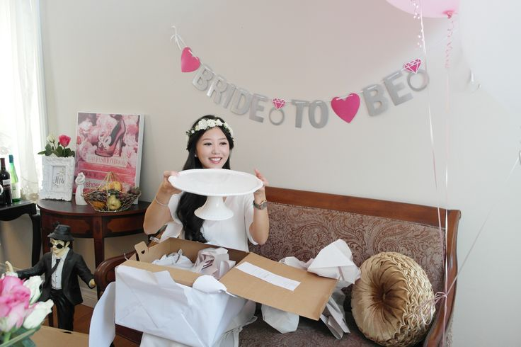 Bridal Shower #BrideToBe #Gifts