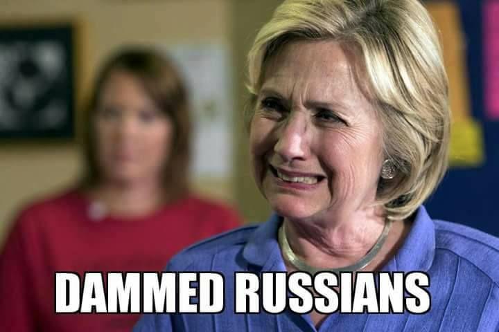 This meme is a bit overdue, but it will still do :) #Hillary #Clinton #Trump #BernieSanders #Sanders #USA #Memes #meme #Funny #LOl #Russia