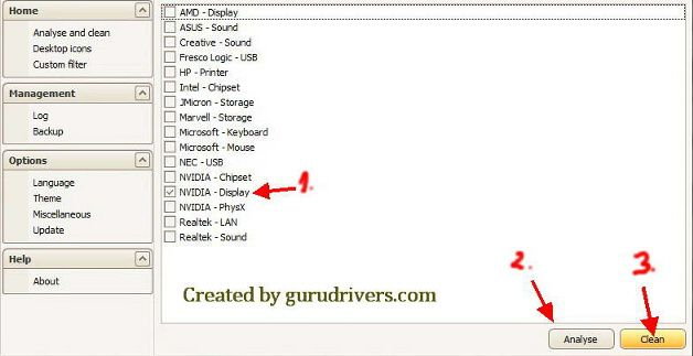 Nvidia driver cleaner download  http://www.gurudrivers.com/optimize/how-to-uninstall-nvidia-geforce-driver-correctly-new-guide-free.html