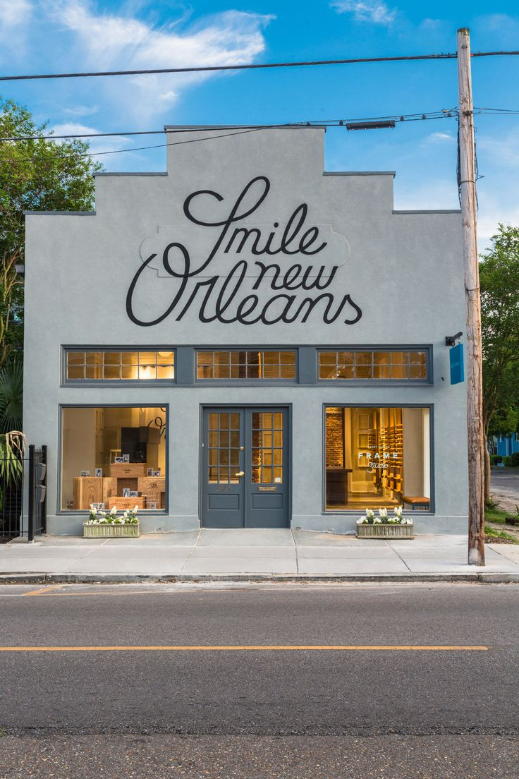 Warby Parker's New Orleans store. Photo: Warby Parker