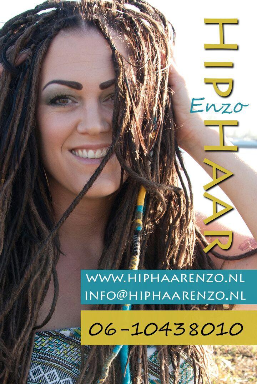 Jaaaa! Ze zijn binnen  m'n nieuwe Visitekaartjes van HipHaarEnZo.nl / BiancaDreads.nl