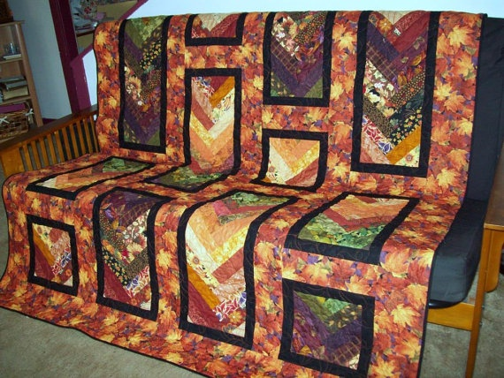 Lobe the concept of this quilt Quilts, Throw quilt, Fall