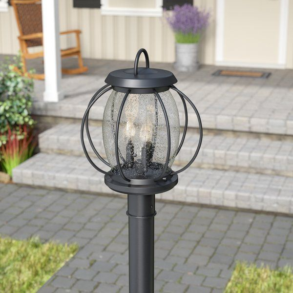 You Ll Love The Haddox Outdoor 3 Light Lantern Head At Birch Lane With Great Deals On All Products Lamp Post Lights Outdoor Lighting Rustic Outdoor Lighting