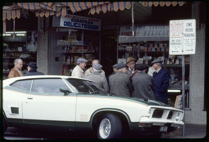 Acland St., St. Kilda, Sunday morning 1983