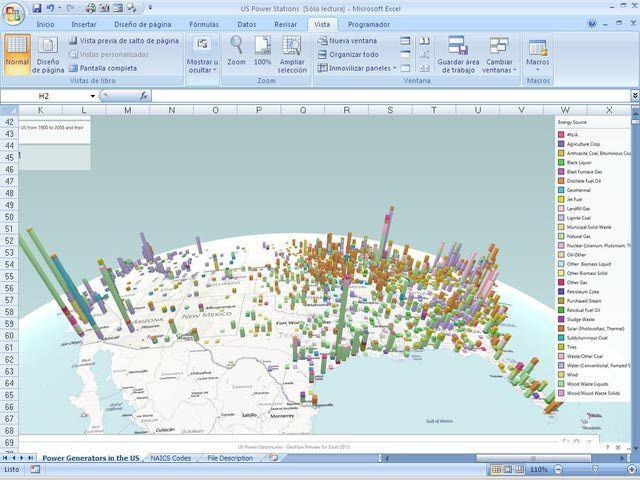 Grafico Facil Con Power Map Excel 2013 Office 365 Bing Introducion Breve A Power Map