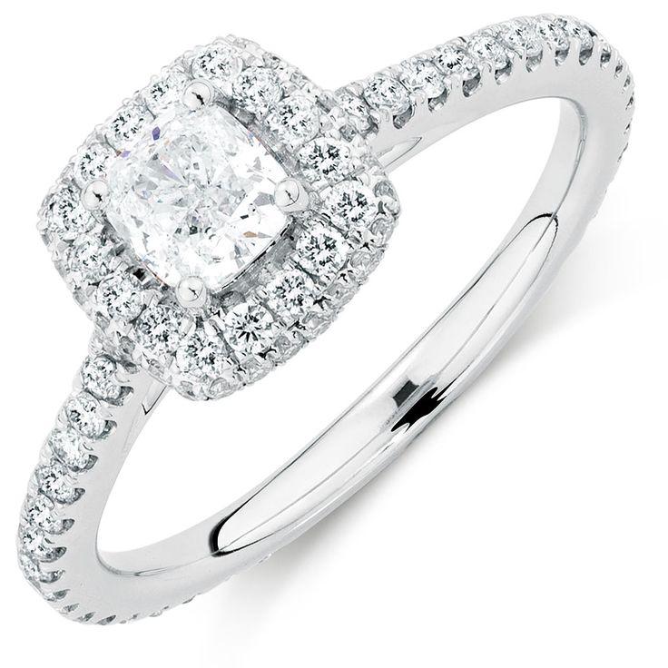 1 Carat TW Diamond Allegro Ring