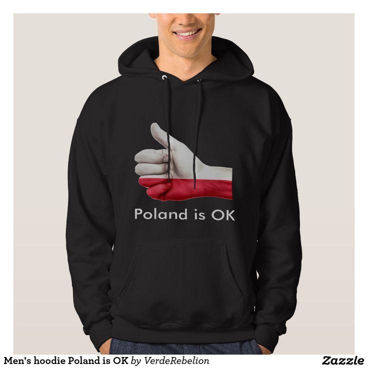 Men's hoodie Poland is OK