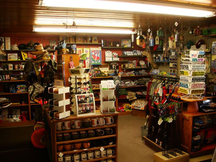 BROWNS TOWN CAMPGROUND Tackle Store At BISHOP CA