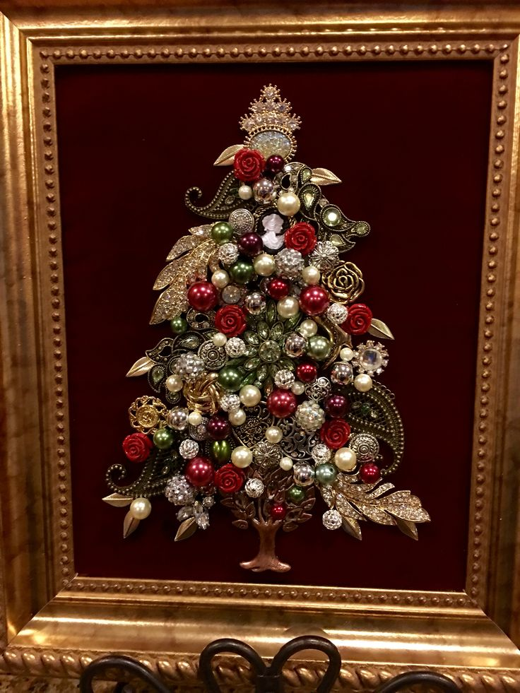 8x10 jewelry tree by Beth Turchi 2016                                                                                                                                                                                 More