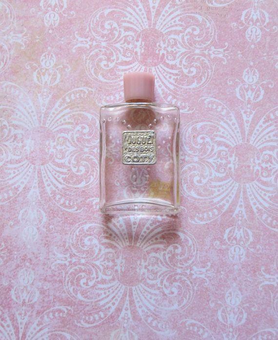 Vintage Art Deco Coty Glass Perfume Flacon Muguet by MiladyLinden