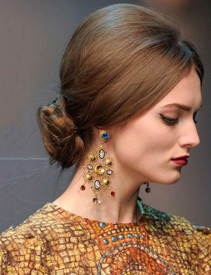 TUTORIAL  PromWedding Braided Flower Updo Inspired by Dolce amp Gabbana Runway