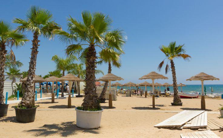 la spiaggia di Pozzallo - Pozzalo beach