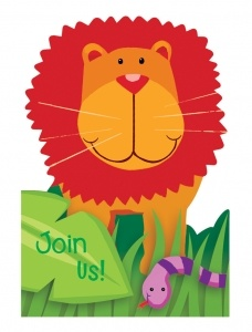 Jungle Animals party supplies from Easykid