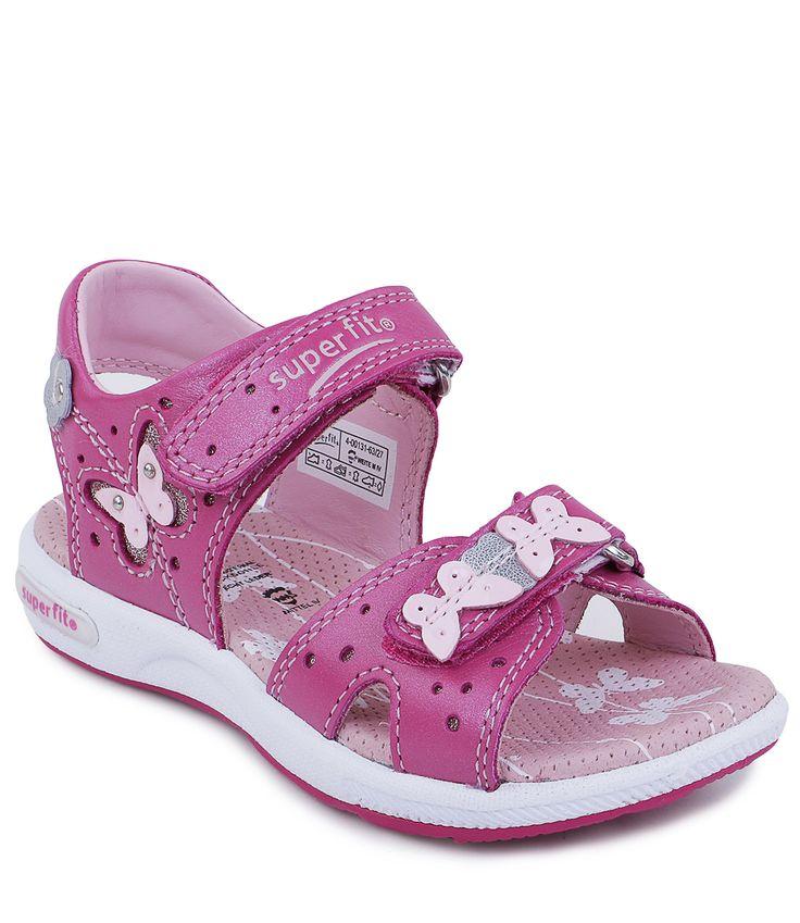 Сандалии открытые для девочки летние розовые - приобрести в интернет-магазине Kinderly - артикул SP-4-00131-63