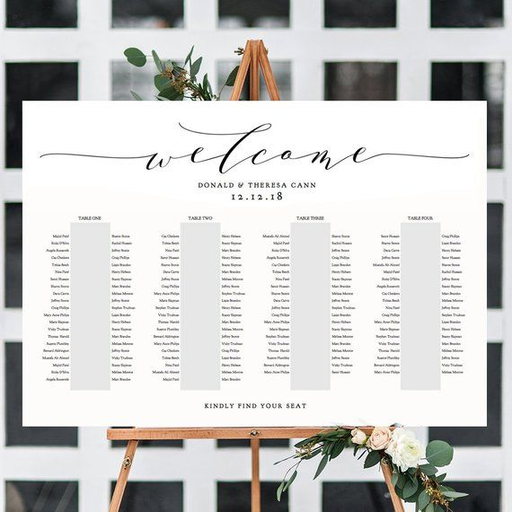 Banquet Seating Chart 4 Long Tables Banquet Table Plan Etsy In 2020 Seating Plan Wedding Seating Plan Template Seating Plan