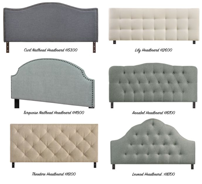 There are some killer headboards on sale right now and Amazon has 6 that I wouldnt mind owning....