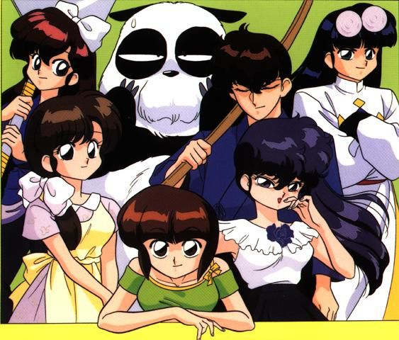 Ranma 1 2 Anime Characters : Best images about ranma on pinterest