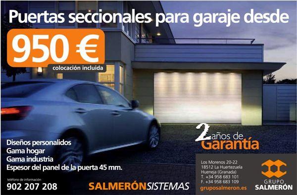 GRUPO SALMERÓN. Puertas de garaje y puertas automáticas