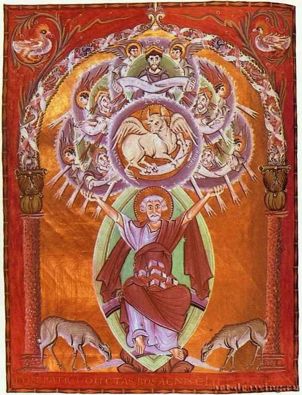 Картинки по запросу евангелие оттона 3