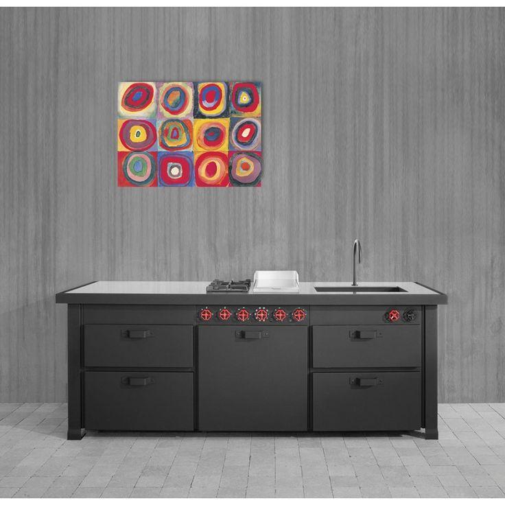 KANDINSKY - Studio del colore (80x60 cm / 110x80 cm) #artprints #interior #design #art #print #iloveart #followart #artist #fineart #artwit  Scopri Descrizione e Prezzo http://www.artopweb.com/autori/wassily-kandinsky%20/EC16087