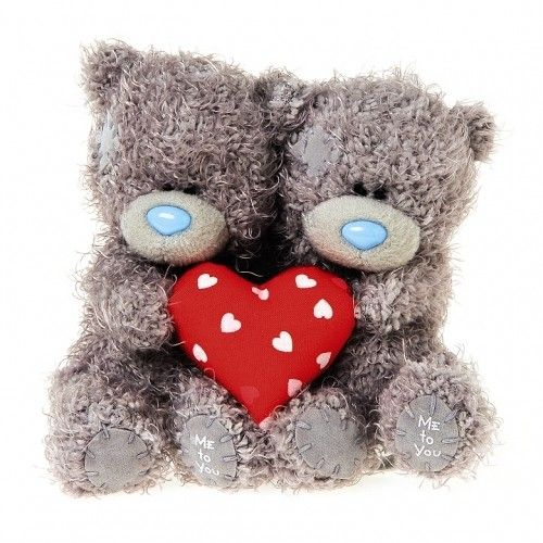 Tatty Teddy Bear Me To You 4inch Coupled With Heart Available @ Li'l Treasures $28. (International Shipping available)