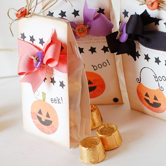 Halloween candy wraps